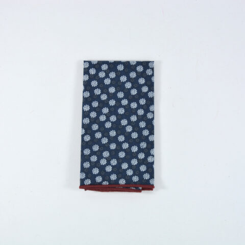 Snowspring pocket square