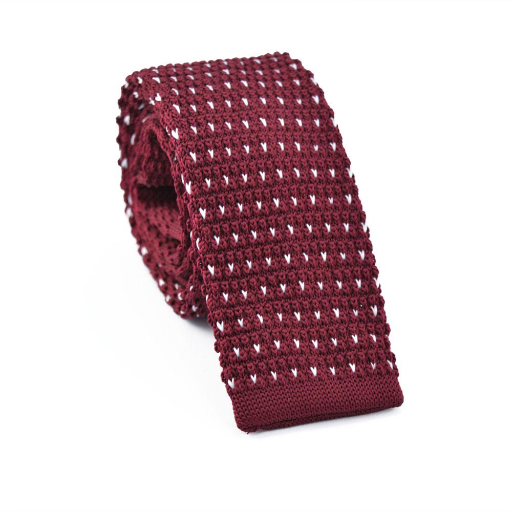 Πλεκτή Γραβάτα Rain Red