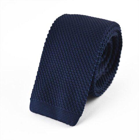 Γραβάτα Blue Knitted