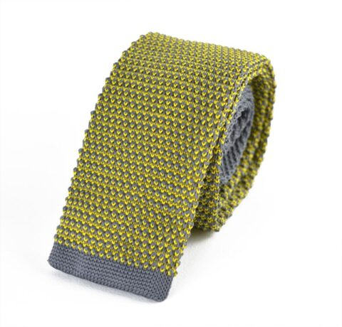 Γραβάτα Parfait Grey Yellow