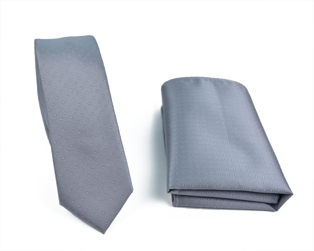 Σετ γραβάτας Greyskinny