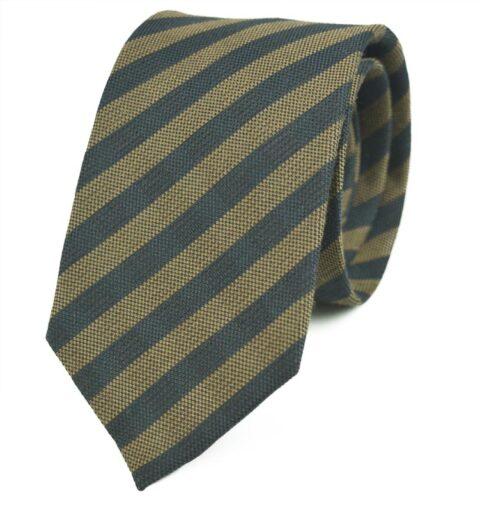 Γραβάτα Makis Tselios από μαλλί και μετάξι - Franklin