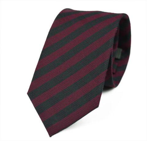 Γραβάτα Makis Tselios από μαλλί και μετάξι Franklin_red