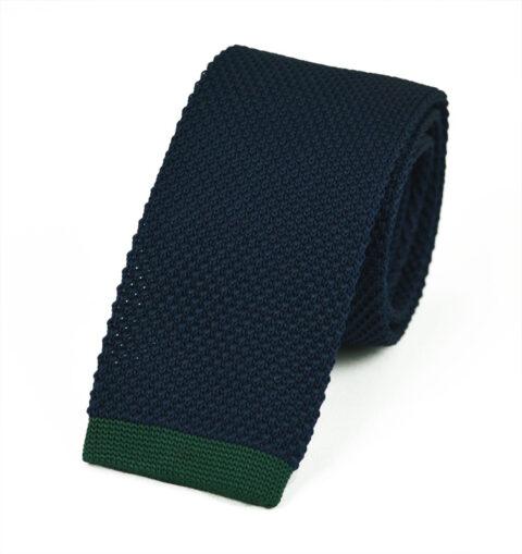 Πλεκτή Γραβάτα Βlue-green