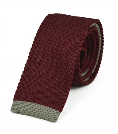 Πλεκτή Γραβάτα Red-bez
