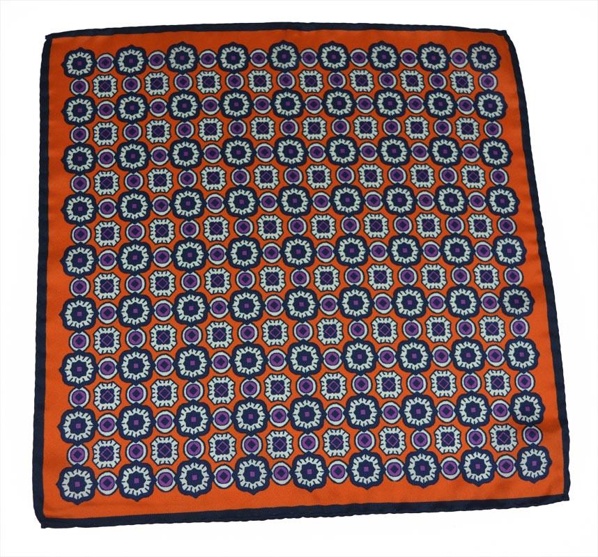 Μεταξωτό Μαντηλάκι stardome-orange