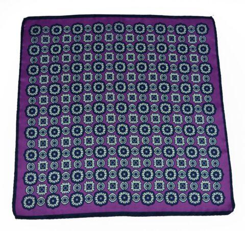 Μεταξωτό μαντηλάκι stardome-purple
