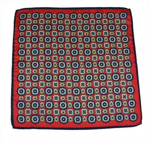 Μεταξωτό μαντηλάκι stardome-red