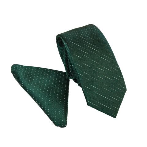 Μεταξωτό Ιταλικό σετ γραβάτα-μαντήλι