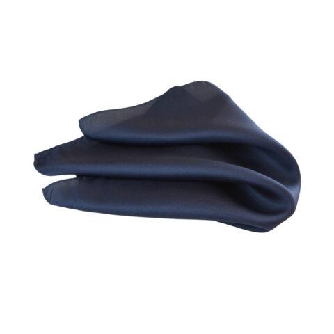 Μεταξωτό μαντηλάκι Hugo Boss μπλε