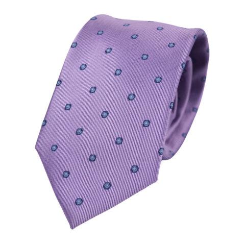 Γραβάτα λιλά με μικροσχέδιο