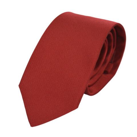 Μεταξωτή Γραβάτα Pierre Cardin κόκκινη 8 εκ.