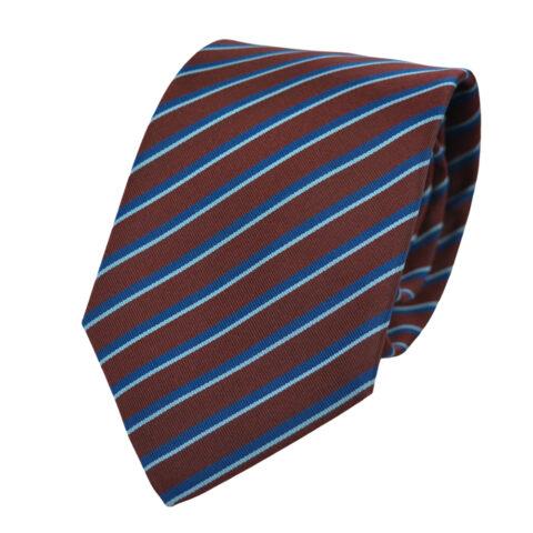 Μεταξωτή Γραβάτα Pierre Cardin μπορντώ ριγέ - 8,5 cm