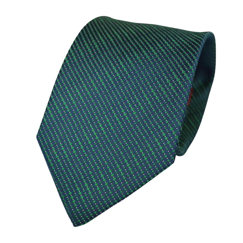Μεταξωτή Γραβάτα Pierre Cardin πρασινο-μπλε