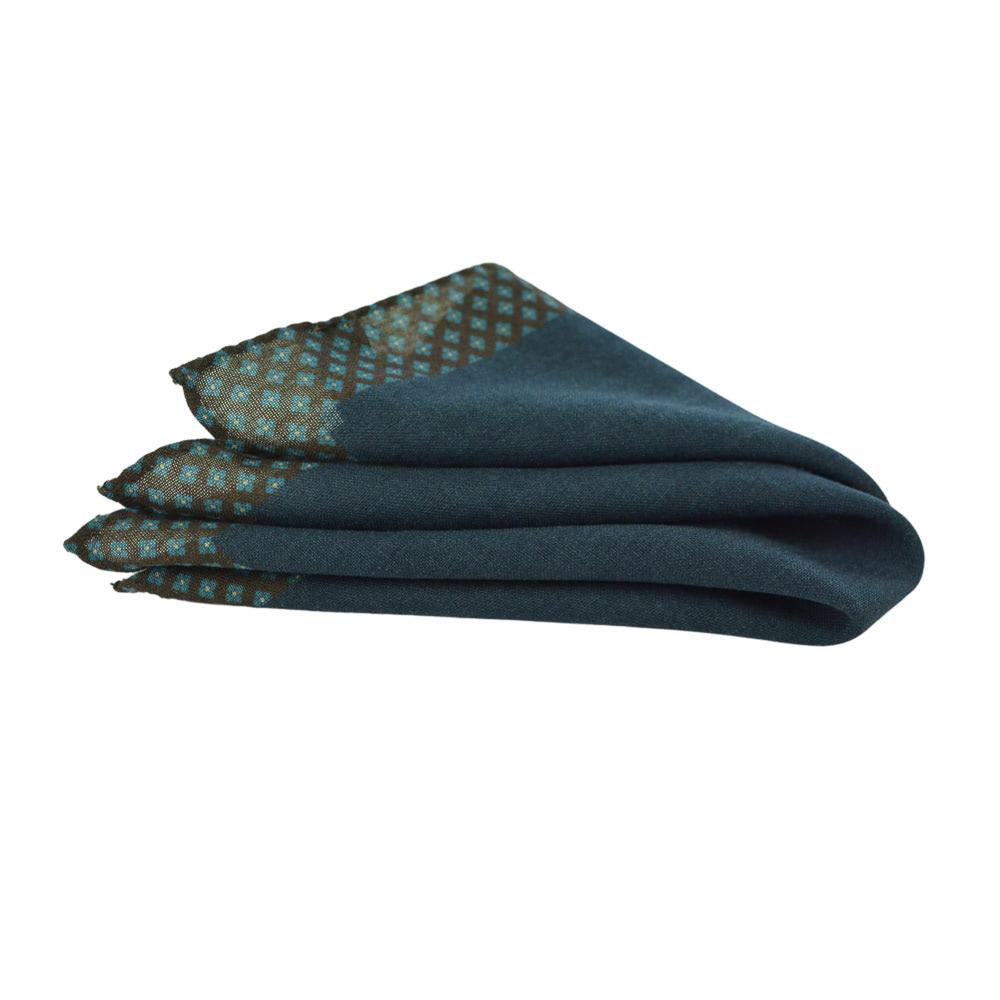 Μάλλινο Μαντηλάκι Grey-purple