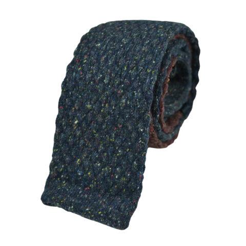 Μάλλινη Πλεκτή γραβάτα με σχέδια