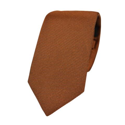 Μεταξωτή γραβάτα πορτοκαλί