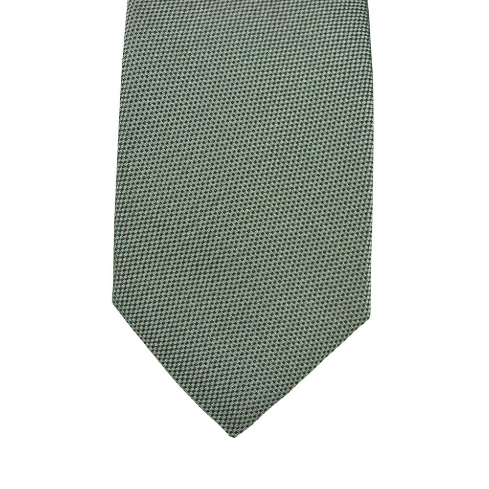 Μεταξωτή γραβάτα σε γκρι 7εκ.