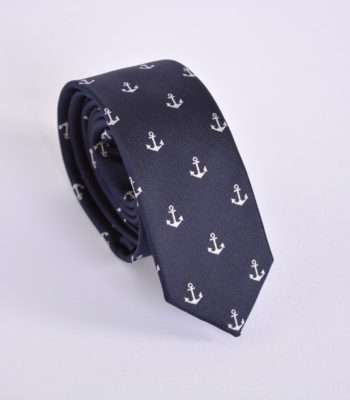 Anchor Blue Tie