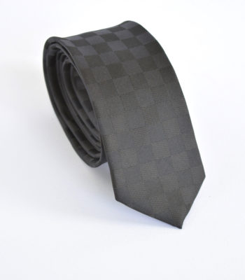 Black Checkers Tie