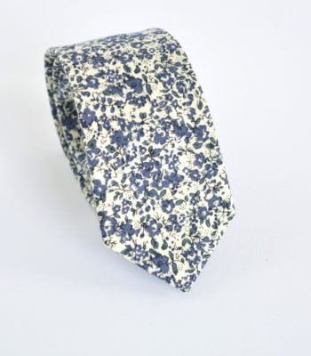 Blue Draw Tie