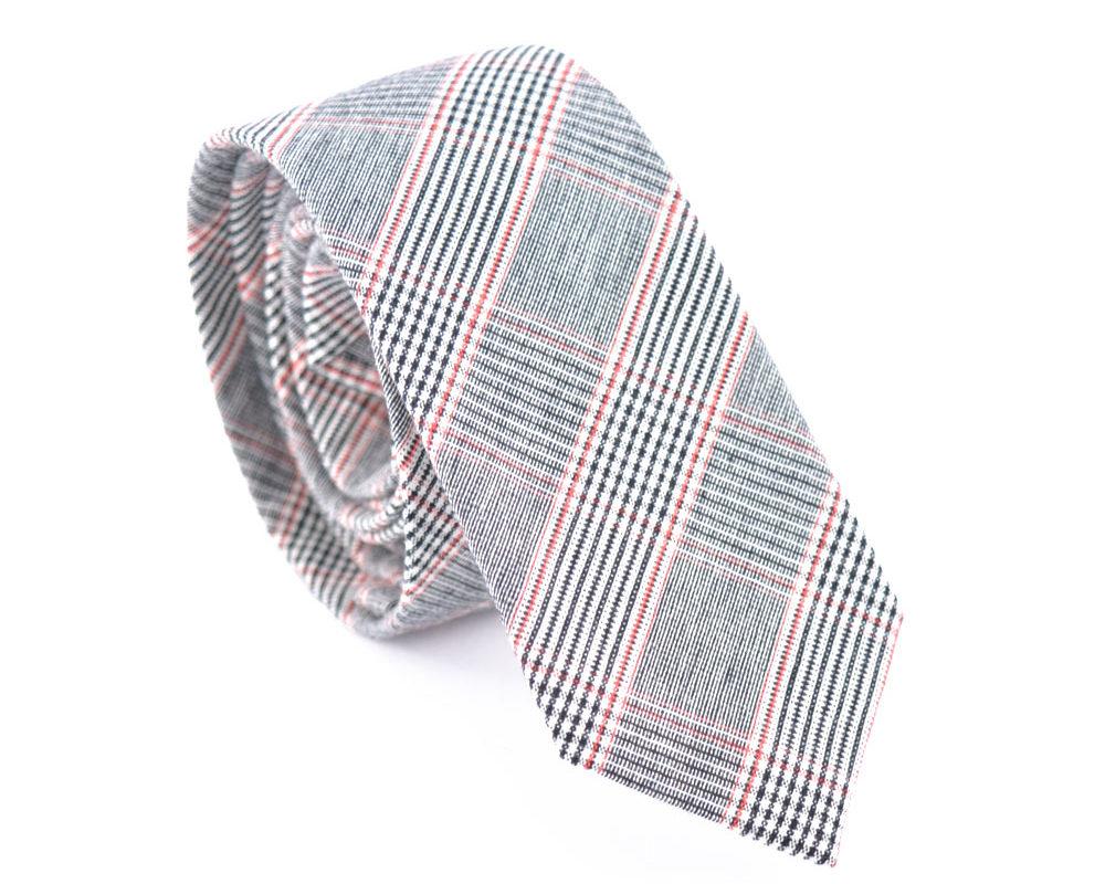 grey-red-tie