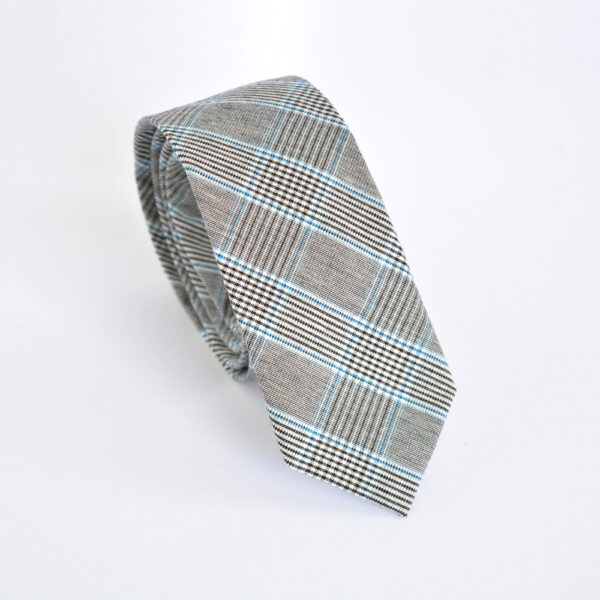 Γραβάτα Grey and Blue