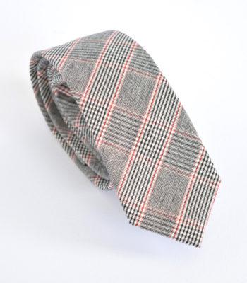 Γραβάτα Grey and Red