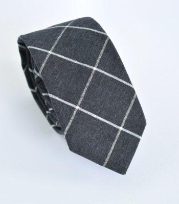 Γραβάτα Grey Grid
