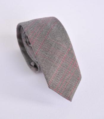 Grey Sketch Tie
