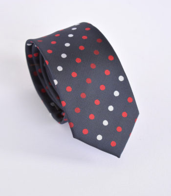 Polka Bold Red Tie