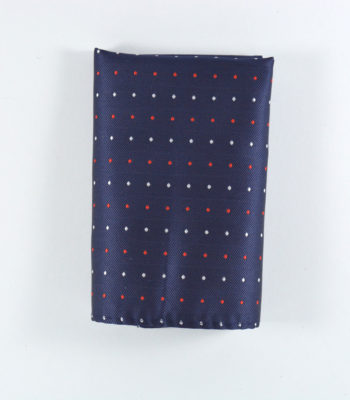 Dotted Light Pocket Square