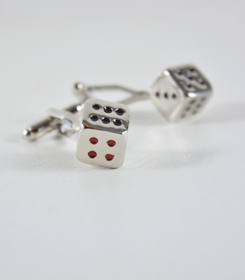 dice-cufflinks