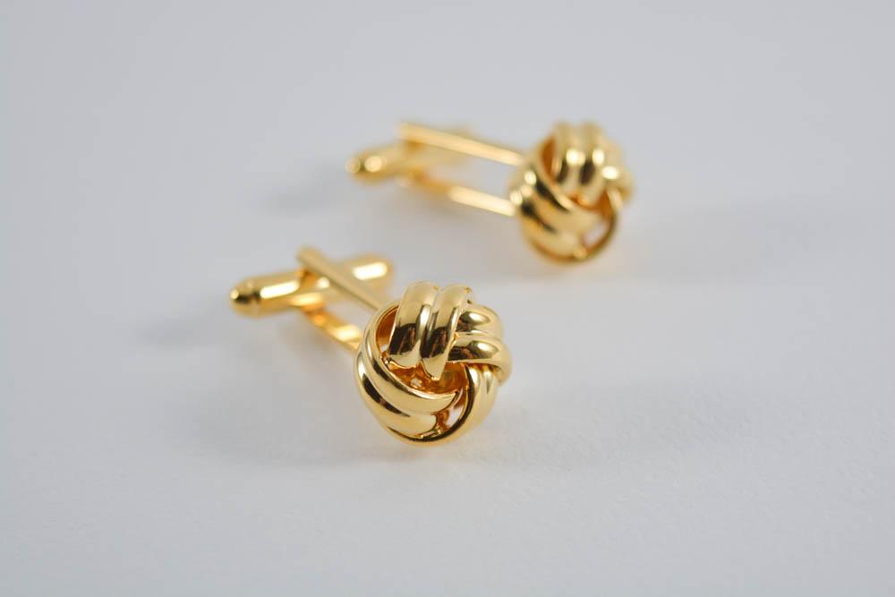 Μανικετόκουμπα Gold Knot