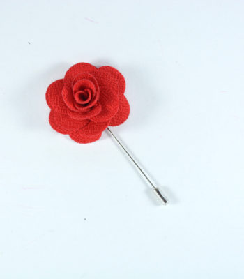 Lapel Pin Red