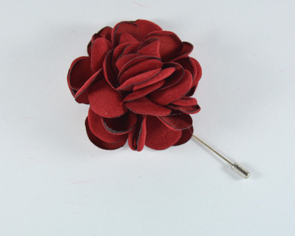 Καρφίτσα Πέτου Big Flower Red