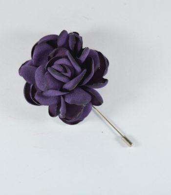 Καρφίτσα Πέτου Big Flower Purple