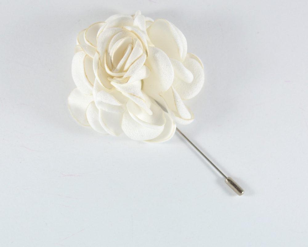 Καρφίτσα Πέτου Big Flower White