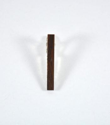 Κλιπ Γραβάτας Dark Wood