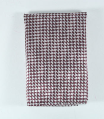 Tyrian Purple Pocket Square