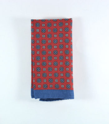 Utopia Blue Pocket Square