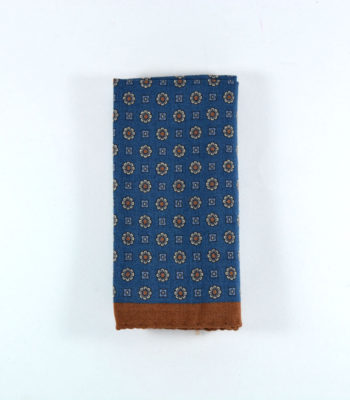 Utopia Brown Pocket Square
