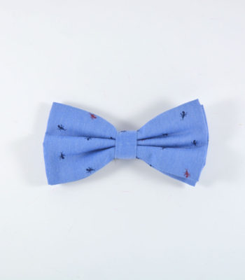 Ant Blue Bow Tie
