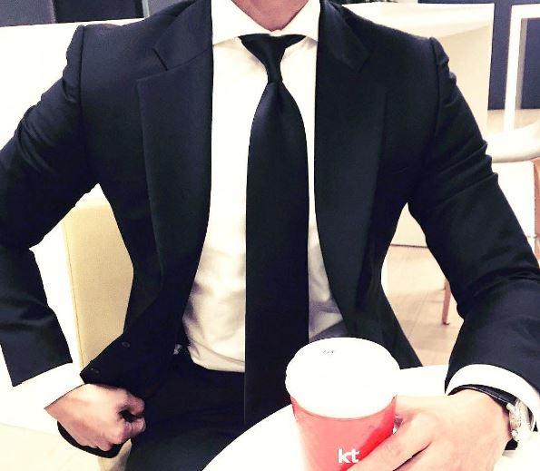 gentswear 3 μαύρη γραβάτα