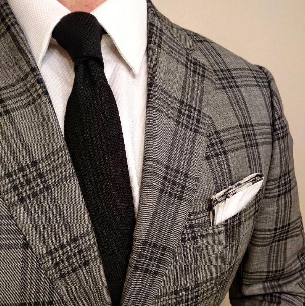 gentswear 2 μαύρη γραβάτα