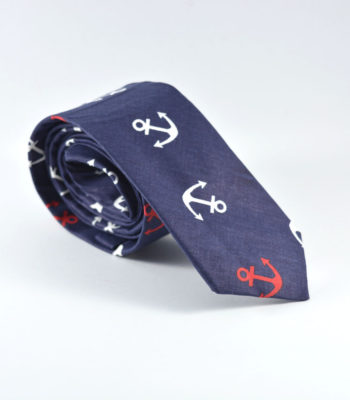Blue Anchor Tie