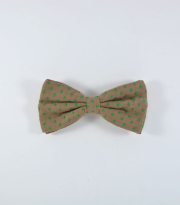 Brown Star Bow Tie