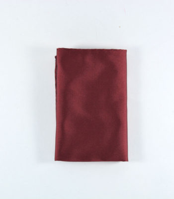 Charm Red Pocket Square