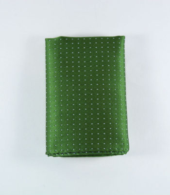 Glam Green Pocket Square
