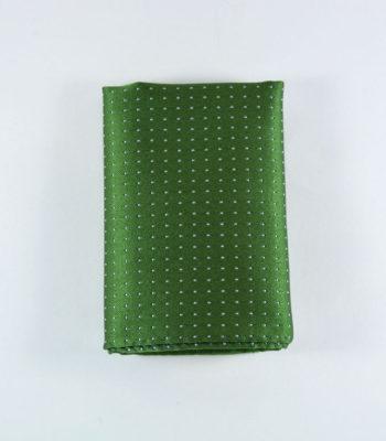 Glam Green Pocket Square